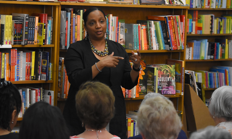 Dr. Daina Ramey Berry, Avid Reader, Davis California