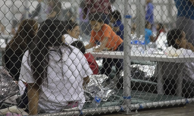 US detention center photograph from The Guardian
